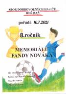 Memoriál Fandy Nováka - 8.ročník 1